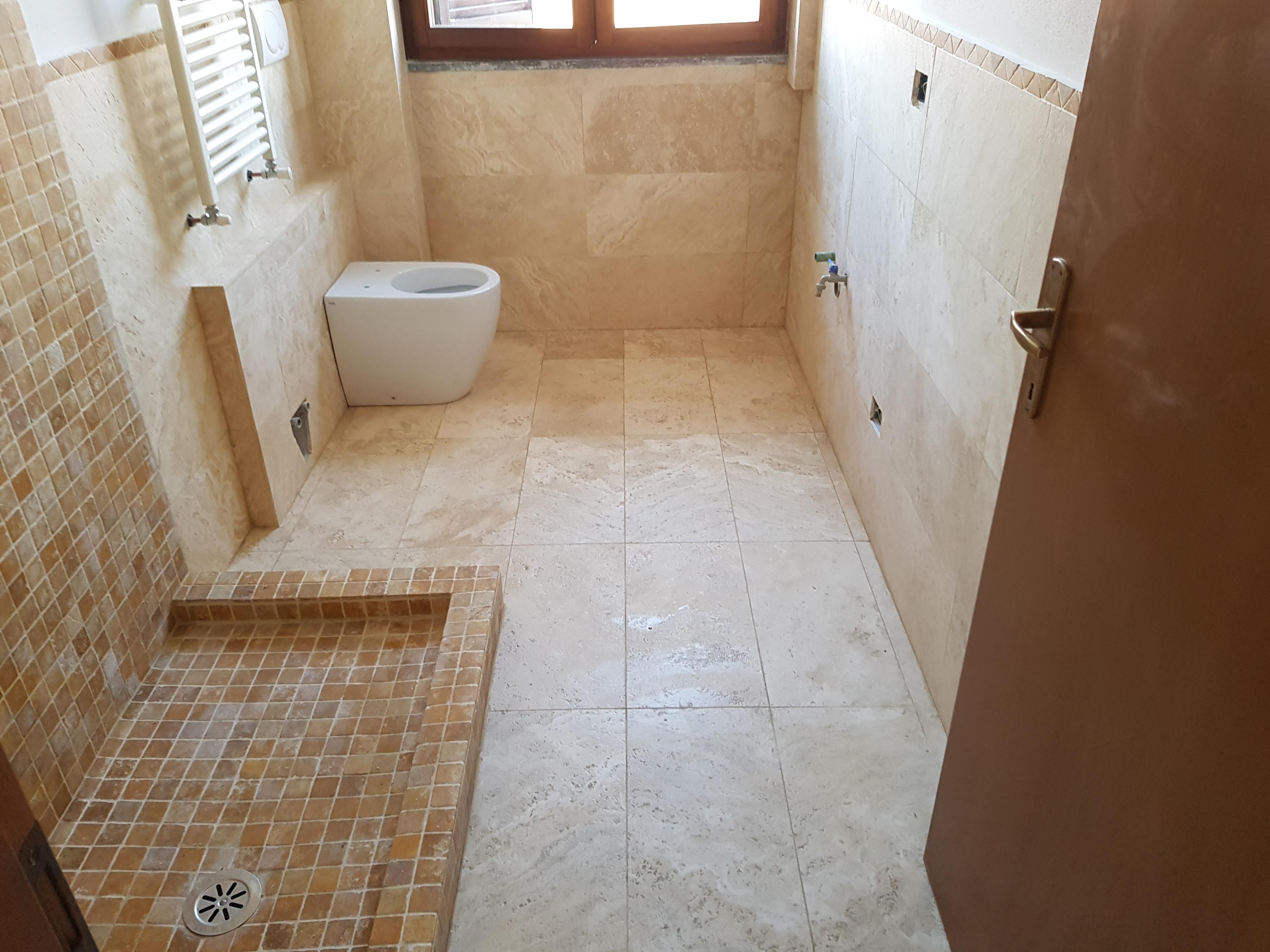 La ristrutturazione del bagno